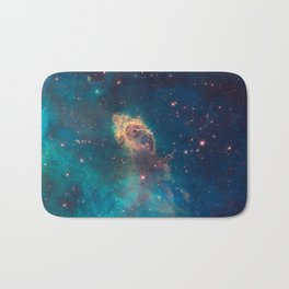 Stellar Jet in the Carina Nebula Bath Mat