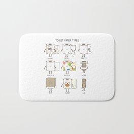 toilet paper types Bath Mat