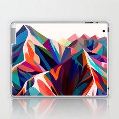Mountains sunset warm Laptop & iPad Skin