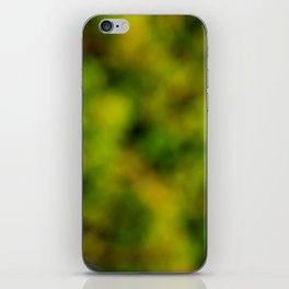 Natural Bokeh Camo iPhone Skin