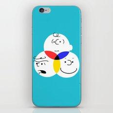 Charlie Brown, colour wheel iPhone Skin
