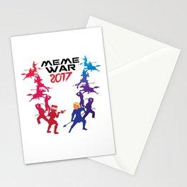 Meme War 2017 Stationery Cards