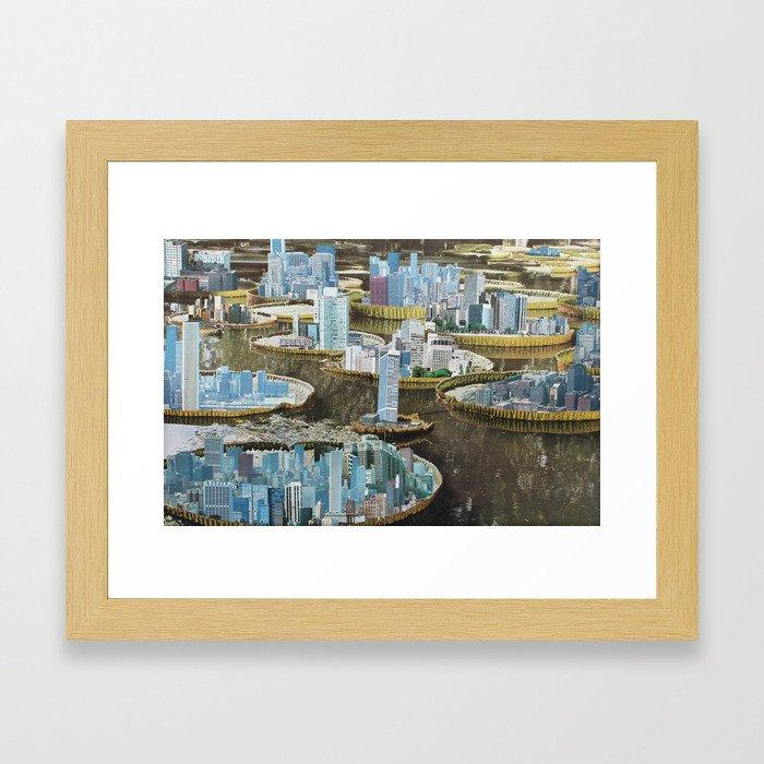 Nenufar state Framed Art Print