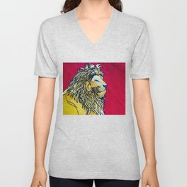 Lion Of Judah Unisex V-Neck