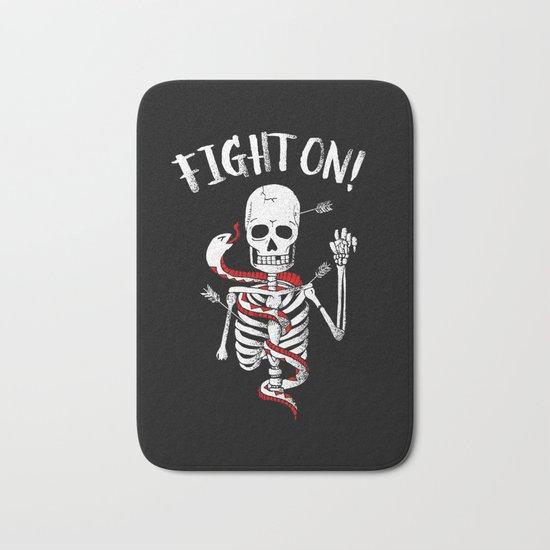 FIGHT ON! Bath Mat