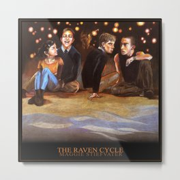 THE RAVEN CYCLE Metal Print