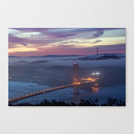 Morning Colors of SF Canvas Print