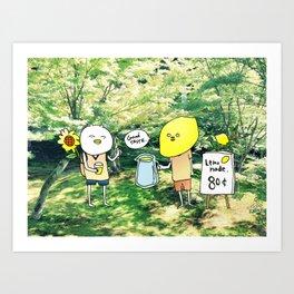 lamonade Art Print