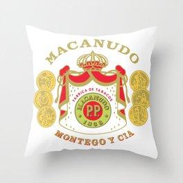 MACANUDO Throw Pillow