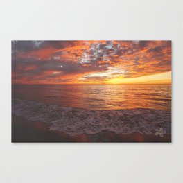 Inspirational Sunset by Aloha Kea Photography Canvas Print