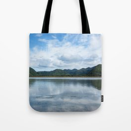Cloud Reflections Photography Print Tote Bag