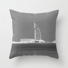 Burj AL Arab Dubai Throw Pillow