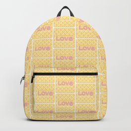 Wafer Cookie Love - Pattern Backpack