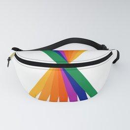 Rainbow Stix Fanny Pack