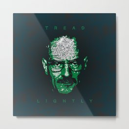 Tread Lightly Metal Print