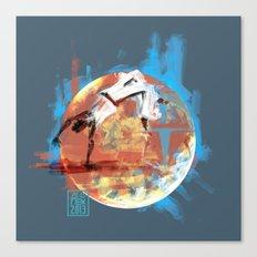 Capoeira 544 Canvas Print