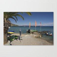 Ipsos beach Canvas Print