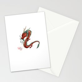 Dragon pure Stationery Cards