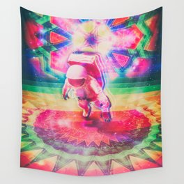 Psychedelic Astronaut Wall Tapestry