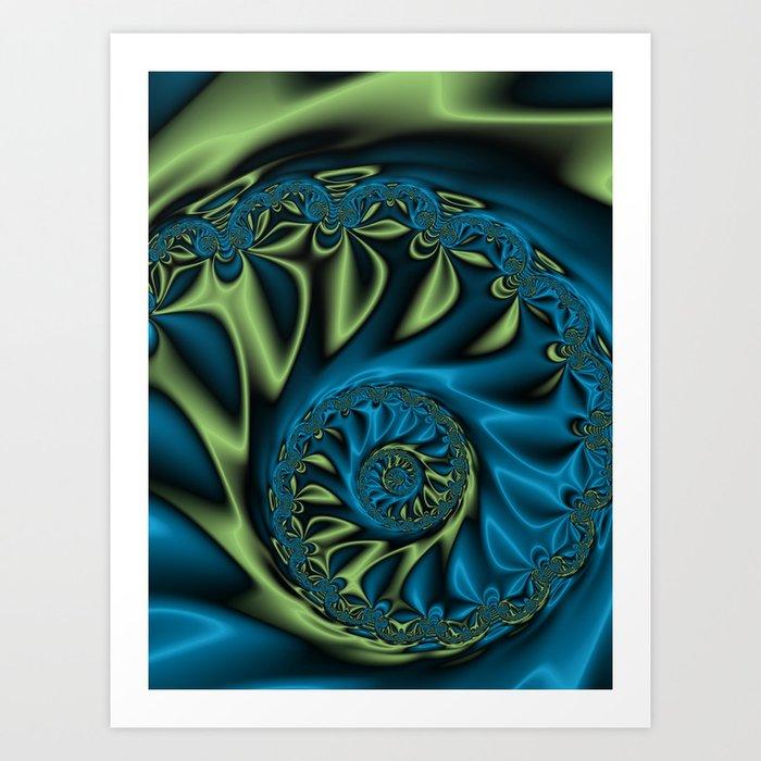 Bioluninescence #3 Art Print