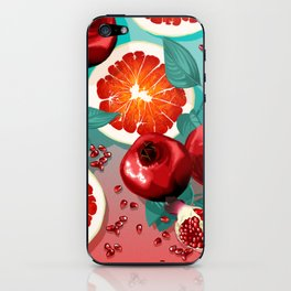 SUMMER FRUITS iPhone Skin