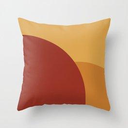Minimal Arches IX Throw Pillow