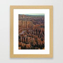 Bryce Canyon National Park Framed Art Print