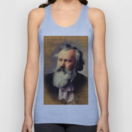Johannes Brahms, Music Legend Unisex Tank Top