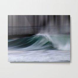 Ocean In Motion 001 Metal Print