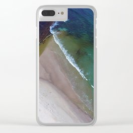 Tidal Change Clear iPhone Case