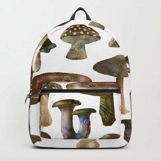 Mushroom Pattern Backpack