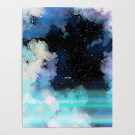 Evolve In Blue Poster
