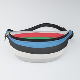 VHS TDK 80s Video Tape Fanny Pack