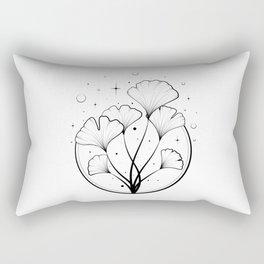 The ancient medicinal ginkgo biloba Rectangular Pillow