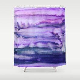 Power Purple Shower Curtain