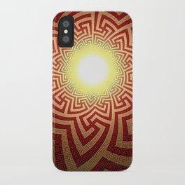 Swazi Light Tunnel iPhone Case