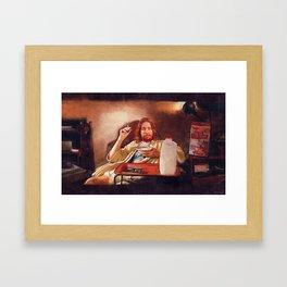 Lance The Drug Dealer - The Dude - Pulp Fiction Framed Art Print