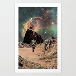 guardians of the portal Art Print