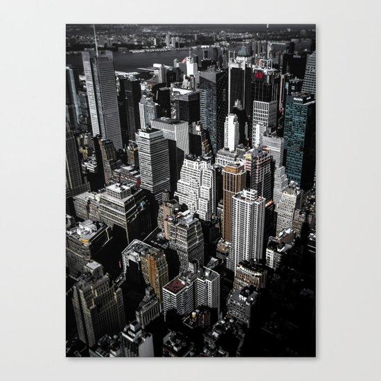 Boxes of Manhattan Canvas Print