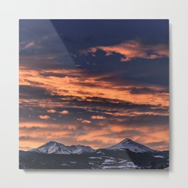 In The Afterglow Metal Print