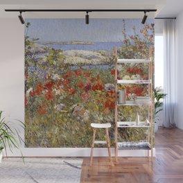 Celia Thaxter's Garden, Isles of Shoals, Maine - Childe Hassam Wall Mural