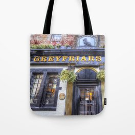 Greyfriars Bobby Pub edinburgh Tote Bag