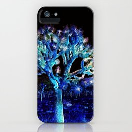 Joshua Tree VG Hues by CREYES iPhone Case