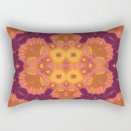 Hot Anenome Rectangular Pillow