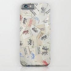Vintage Postal Ephemera - Mr. Zip Slim Case iPhone 6s