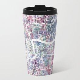 Brisbane map Travel Mug