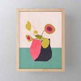 Plant Framed Mini Art Print