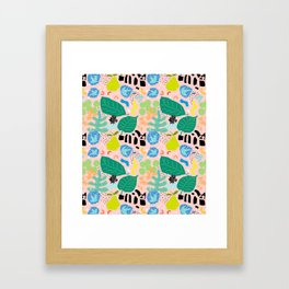 Abstract Orchard Framed Art Print