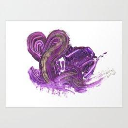Mushy Art Print