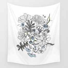 Rainy summer Wall Tapestry